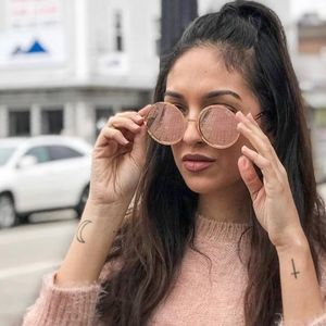 Quay Australia Ukiyo Rose Gold Sunglasses